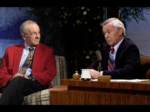 Johnny Carson interviews UNL Chancellor Harvey Perlman