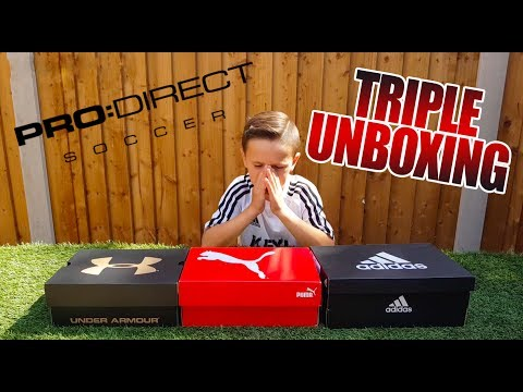 HUGE PRO DIRECT NEWS | TRIPLE UNBOXING | KEYL SKILLS