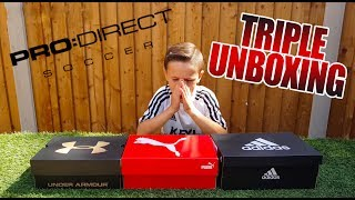 HUGE TRIPLE UNBOXING | PRO DIRECT DELIVERY 📦