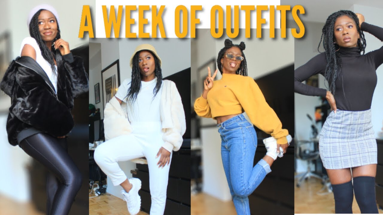 [VIDEO] - A WEEK OF COMFY CUTE OUTFITS - Fall 2019 LOOKBOOK 2