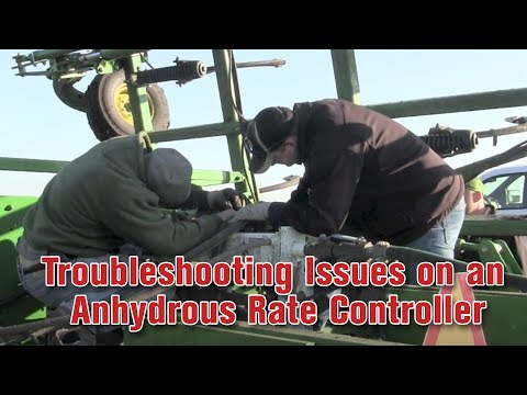 Troubleshooting Issues on an Anhydrous Rate Controller - YouTube on