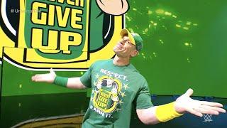 Ihr könnt ihn wahrscheinlich nicht sehen, aber John Cena ist back!