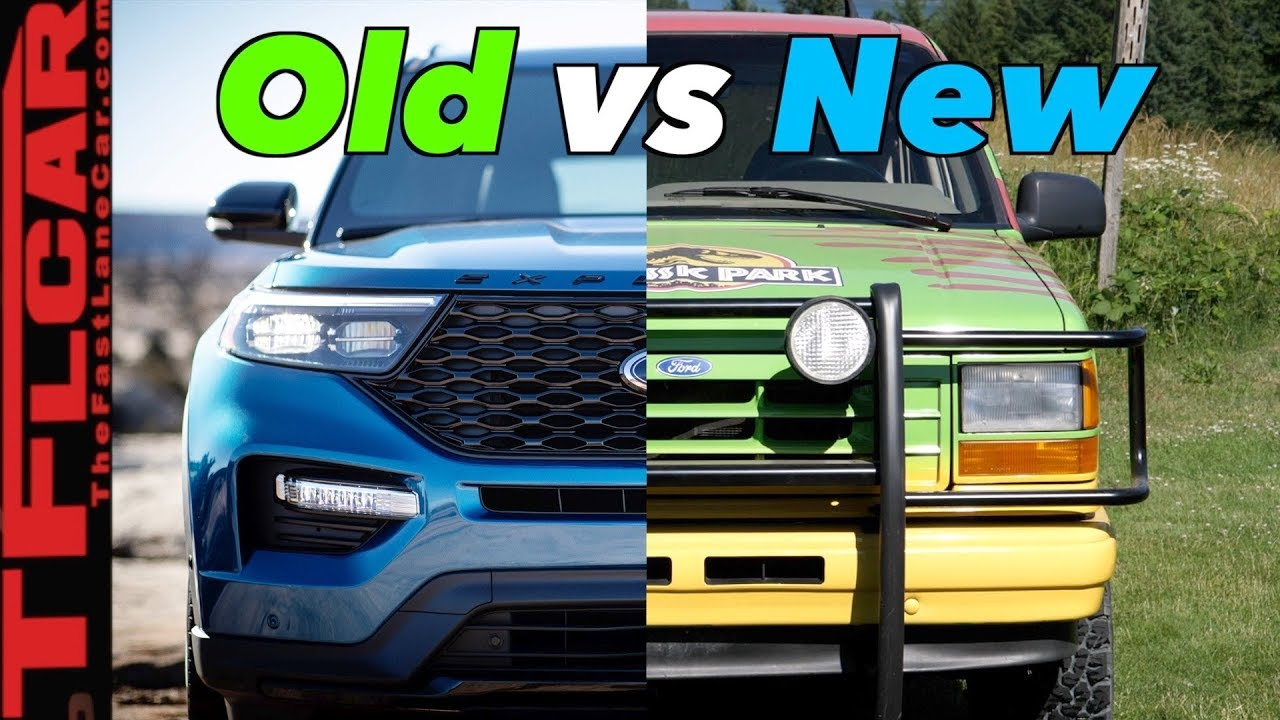 old vs new how much better is the 2020 ford explorer than the original the fast lane car better is the 2020 ford explorer