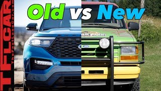 Old vs New: Is The 2020 Ford Explorer ACTUALLY Better Than A 1991?