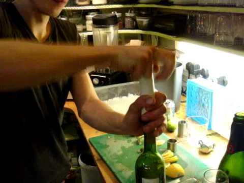 Keeping the wine fresh