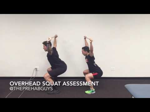 Overhead Squat Movement Assessment