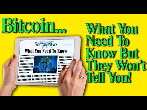 Bitcoin & Cryptocurrency   What You Need To Know NOW!!!