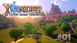 YONDER #01 • Der kleine Abenteurer • Yonder the Cloud Catcher Chronicles Gameplay German • Deutsch