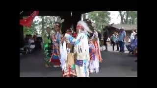 Indian Village Pow Wow Owl Dance 2 - Calgary Stampede