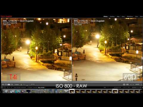 Canon 650D (T4i) Vs Canon 60D - Часть 1 (рус)