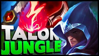 PARKOUR PERMA ROAM TALON JUNGLE! HOW CAN YOU NOT DIE TO THESE GANKS?!?