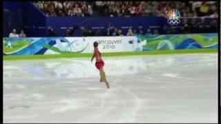 Mao Asada 2010 Olympics Triple Axel Combination Short Program