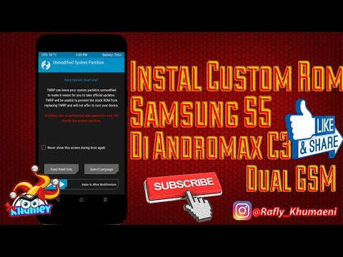 Instal Custom Rom Samsung S5 Di Andromax C3 Dual GSM!!!