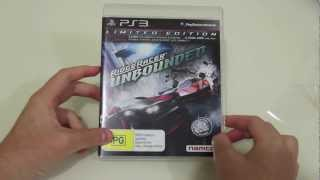 UNBOXING: Ridge Racer Unbounded Limited Edition (PS3)