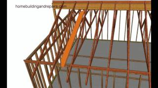 How To Install Beam Before Roof Rafters For Existing Trusses To Create Vaulted Ceiling