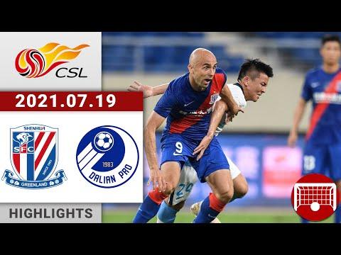 Shanghai Shenhua Dalian Pro Goals And Highlights