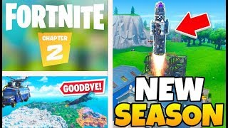 FORTNITE ROCKET LAUNCH EVENT IS LIVE | Season 11 Chapter 2 | New Battle Pass, Map and Gameplay