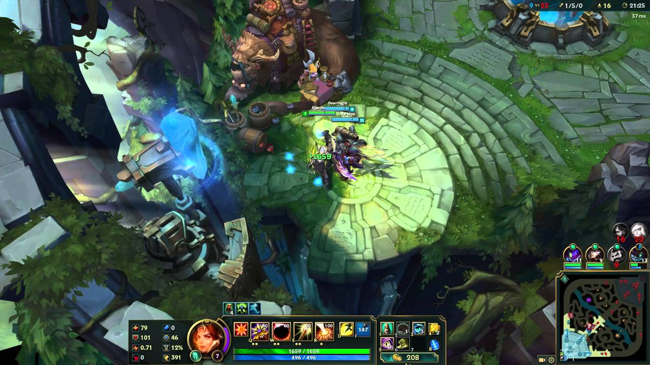 League of Legend - Client bug? Look how the game freezes, and this in  ranked =X