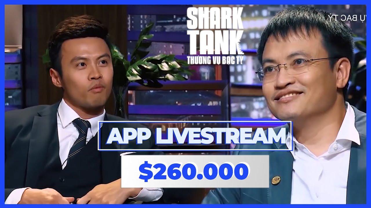 260 000 $ cho App Livestream Liệu Startup có nhận được đầu tư từ các Shark  @Shark Tank Vietnam Sub