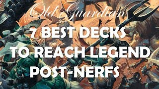Best decks to climb to Legend (Hearthstone Rise of Shadows May post-nerfs)