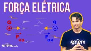 FORÇA ELÉTRICA: o que é, fórmula, Lei de Coulomb   Resumo de Física para o Enem