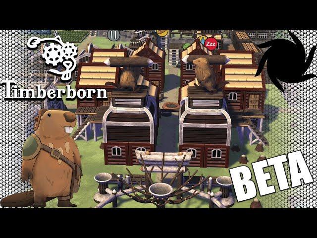 Timberborn Beta - Fancy Beavers - Awe-some