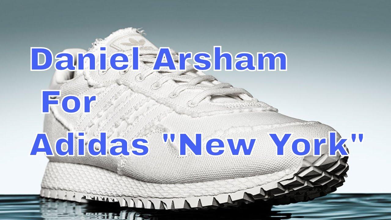 best service c1b7c 3692e Daniel Arsham For Adidas