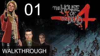 The House of the Dead 4 Chapter 1 Walkthrough Gameplay LetsPlay