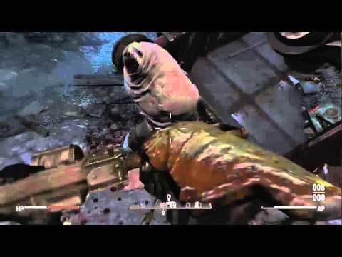 Fallout 4 - Death Glitch with Legendary Raider