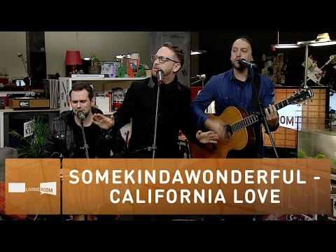 SomeKindaWonderful - California Love (Live at joiz)