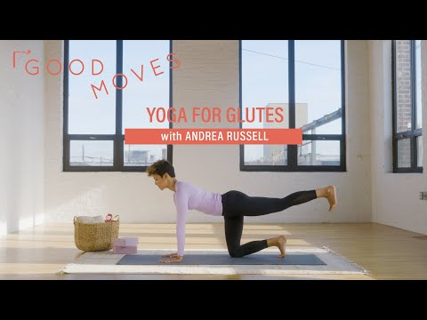 Yoga For Glute Strength | Good Moves | Well+Good