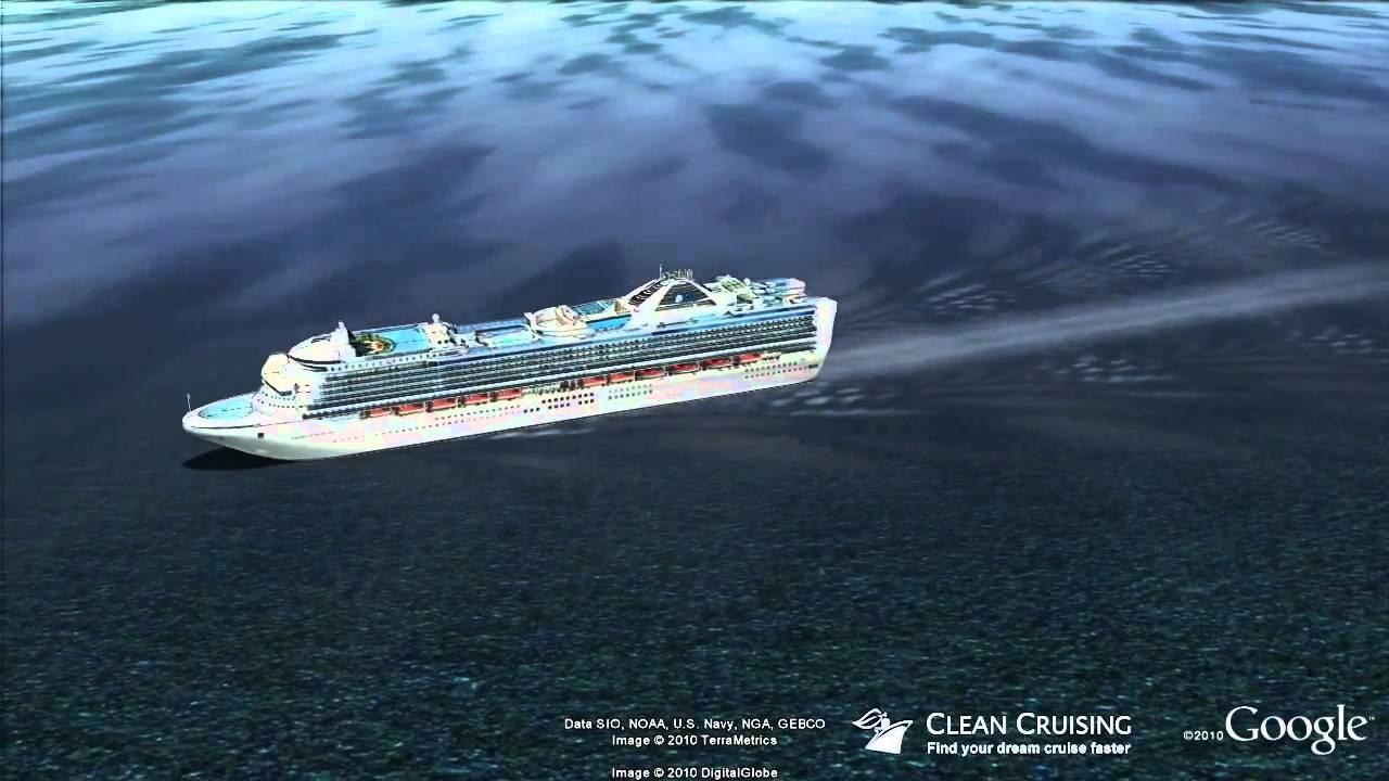 Emerald Princess Virtual Ship Tour YouTube - Cruise ship live webcams