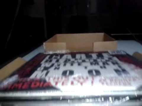 Unpacking paquet de discos rebut de Decks Records...