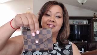 Video Louis Vuitton Victorine wallet - unboxing download MP3, 3GP, MP4, WEBM, AVI, FLV Agustus 2018