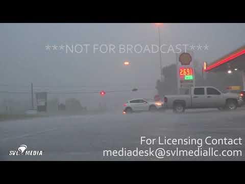 Lexington, KY Tornado Sirens, Cincinnati Shelf Cloud 7-20-18