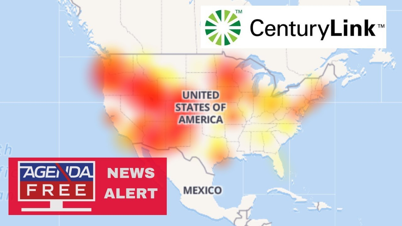 Nationwide CenturyLink Internet Outage - LIVE COVERAGE - YouTube on