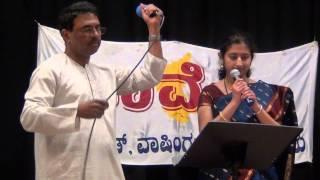 PB Sreenivas Tribute -- Kaveri USA --  Kannada Song -- Nibandu Ninthaga
