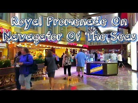 Royal Promenade On Navigator Of The Seas