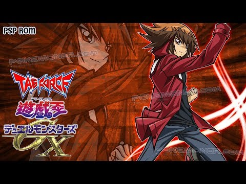 Yu-Gi-Oh! GX Tag Force USA PSP - Gameplay + Download