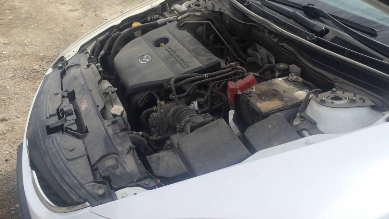 Разборка Mazda 6 (Мазда 6) двс 2.0 LF 2010 АКПП