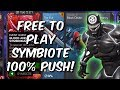 Free To Play Symbiote 100% Speedrun! - Marvel Contest Of Champions
