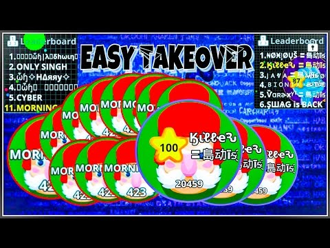 AGARIO MOBILE TAKEOVER //DESTROY WAR HEROES CLAN //DESTROY EX SADIS MEMBER // FAST TAKEOVER