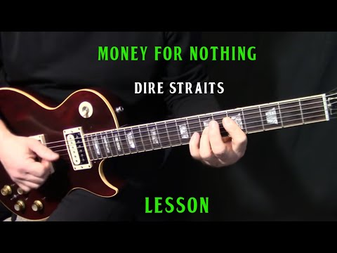 """how-to-play-""""money-for-nothing""""-on-guitar-by-dire-straits-mark-knopfler---rhythm-guitar-lesson"""