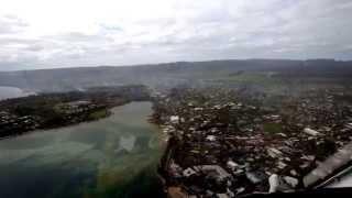 Cyclone Pam - Port Vila overflight - 19 March, 2015