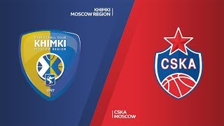 Khimki Moscow Region - CSKA Moscow Highlights | Turkish Airlines EuroLeague, RS Round 22