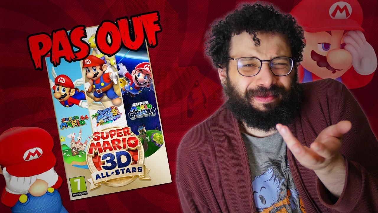 Mario 3D All-Stars, ça pourrait être mieux ! - Ermite Moderne
