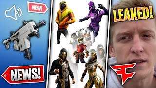 5 LEAKED Skins, New SMG, Arena Mode Squads, Tfue Contract & TFUE ORG! *FaZe Lied* (Fortnite News)