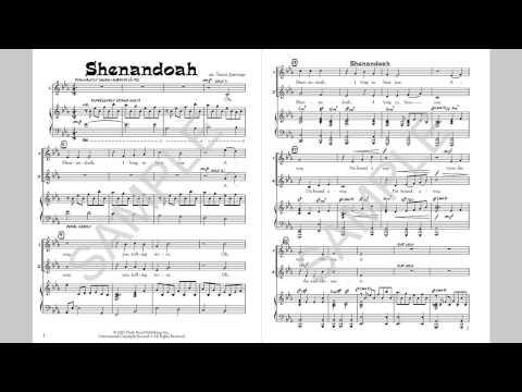 Shenandoah - MusicK8.com Singles Reproducible Kit