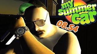 BITKA O ZEGAREK NA IMPREZCE #DYMY - My Summer Car (Odc 8 Sezon 4)