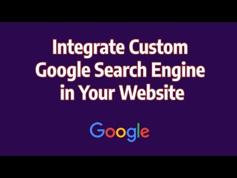 Integrate Custom Google Search Engine In Your Website